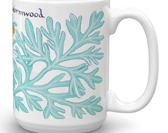 Wormwood Coffee Mug - Witchy Gifts For Kitchen Witches