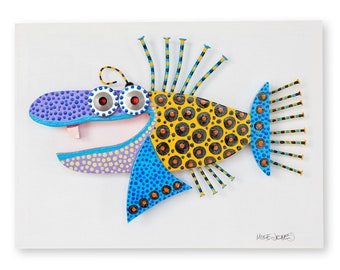 Wide Eyed Spotted Fish