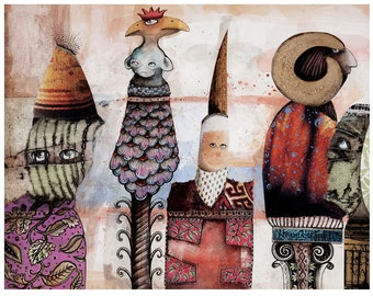 Totem Dolls - Limited Edition Print