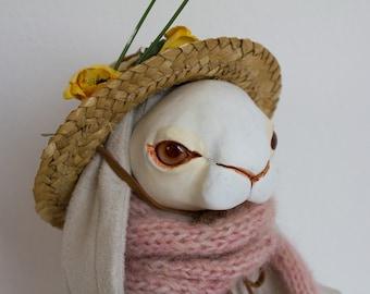 "OOAK Artdoll ""Lily the Gardener"""