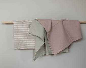 Set of 4 cotton napkins