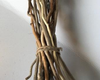 Curly Driftwood Vase Filler / Wedding Driftwood / Driftwood Sticks / Home Decor