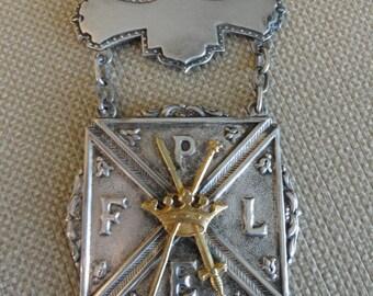Pythian Sisters Medallion  Pettibone Bros. Mfg. Co.
