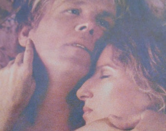 "1991 movie promo AD Barbra Streisand Nick Nolte ""Prince of Tides"" original advertimsent"