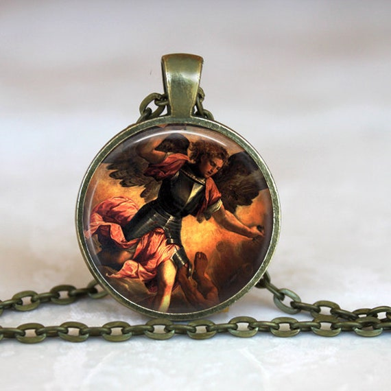 Saint Michael the Archangel Pendant - Defender of God