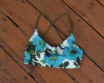 Reversible Bikini Top-swimwear - Lace up Back -The Mississippi