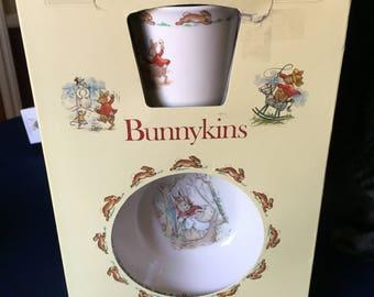 Beatrix Potter Bunnykins Set Vintage