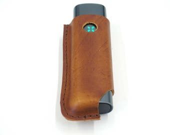 Pax Vaporizer - Leather Belt Holder & Case - Tan
