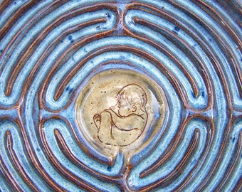 Labor Labyrinth - Finger Labyrinth - Birth Relaxation Tool - Made to Order