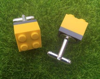 Lego cufflinks.