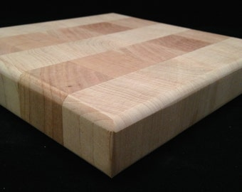 Maple & Cherry End Grain Chopping Block