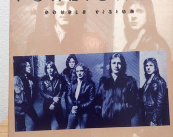 Foreigner Double Vision Classic Rock Vintage Vinyl Record Album