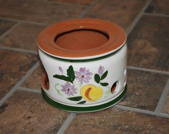 Stangl Fruit and Flowers Warmer #4030 - Mid-Century Art Pottery Dinnerware