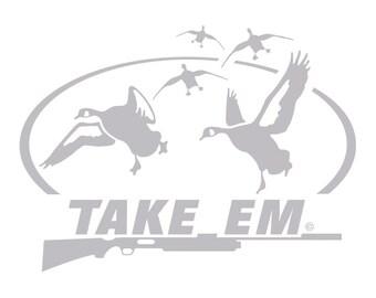 Take Em Goose Hunting Decal HI-33