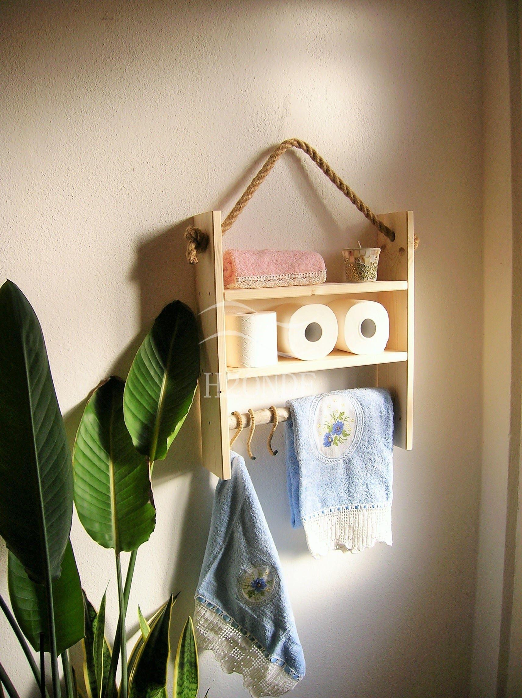 Rustikale Holz Wand Regal Bad Küche Wand Regal Display