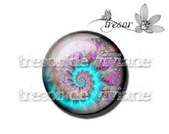 PA438 manual glasses Retro, snails, Swirl, spiral cabochons