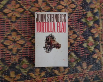 Tortilla Flat by John Steinbeck Vintage Paperback Book