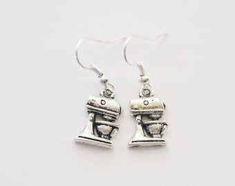 Mixer Earrings, Baking Earrings, Baking Jewelry, Baking Gifts, Mixer Jewelry, Foodie Gift, Cook Jewelry, Gifts for cooks, Gifts for Bakers