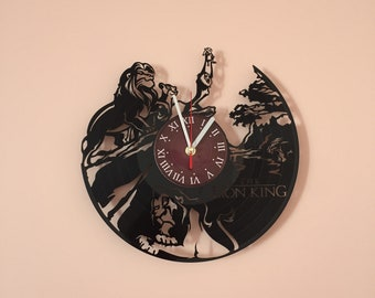 DISNEY LION KING MOViE wall clock gifts for men gift for kids gifts for boys