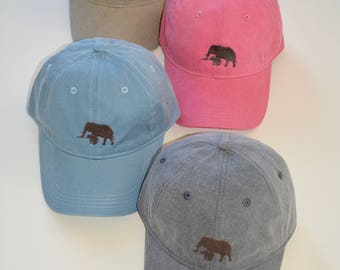 Elephant Baseball Caps
