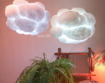 Cloud Light battery operated multicolor LED light with remote control ~ cloudlight