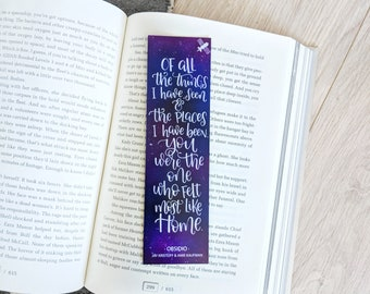 Most Like Home - Bookmark