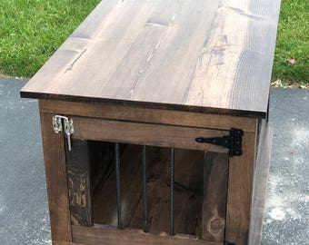 End table crate (small dog)