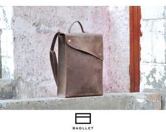 Leather Backpack P017, Handmade backpack, women leather backpack, hipster backpack, leather backpack men, mens backpack, laptop backpack
