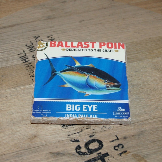 UPcycled Coaster - Ballast Point - Big Eye