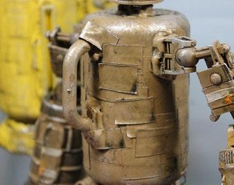 assemblage robot dancer