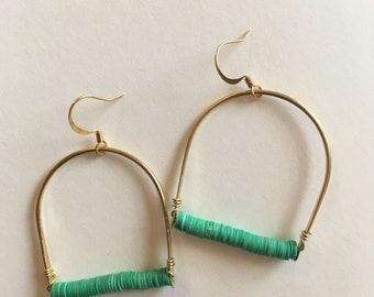 Medium Horseshoe Earrings