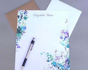 Writing paper etsy au stationary paper 5 x 7 and 8 x 10 personalized stationery set writing spiritdancerdesigns Gallery