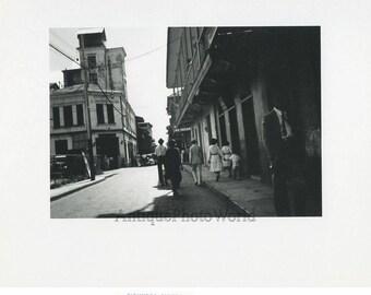 Cuba street view vintage art photo Alejandro Olivera
