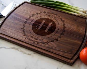 Personalized Cutting Board,Custom cutting board, Engraved cutting board, housewarming gifts, wedding gifts, Christmas gift