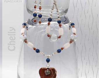 Jewelry Set | Necklace, Bracelet, Earrings | Chelly PG40230819