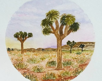 Joshua Tree (Original Watercolor)