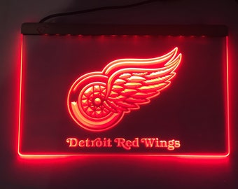 detroit red wings logo Acrylic Sign