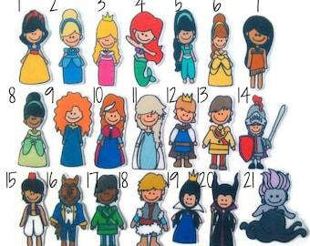 Fairy Tale, Felt Board, Flannel Board, Felt Set, Homeschool, Busy Book, Felt Story, Story Time, Quiet Book, Imaginative Play, Teacher