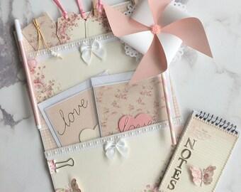 Handmade Junk Journal, Pocket Surprise, Loaded Envelope, Stationery Gift Set, Snail Mail, Happy Mail