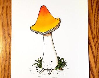 Witch's Hat - Art Print