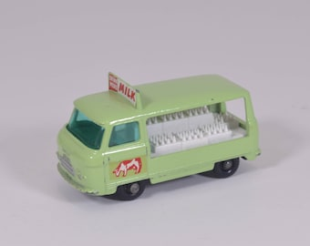 Matchbox Number 21  Milk Float, Excellent Condition,  Made In England, Lesney, Vintage Toys, Collectible Metal Toy Cars