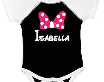 Minnie Mouse infant outfit , Disney Baby