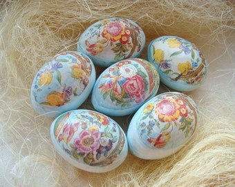 Set of Easter eggs. Easter wood eggs. Easter eggs. Wooden decorative eggs. Home decor. Spring eggs. Easter eggs