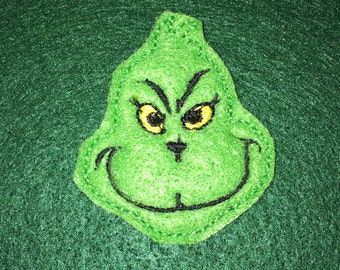The Grinch Feltie