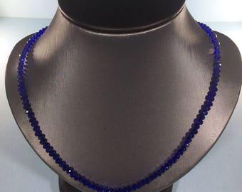 Memorial  Day Bestseller SALE 30% , Sapphire Necklace, Sapphire Necklace, Natural Sapphire Necklace, Genuine Sapphire Gemstone Necklace,