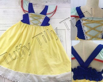 Snow White play dress