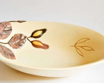 Carlton Ware Hazelnut Cream Coloured Tear Shaped Bowl