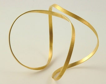 22K Solid Gold, Handcrafted Bracelet, No. 25-5