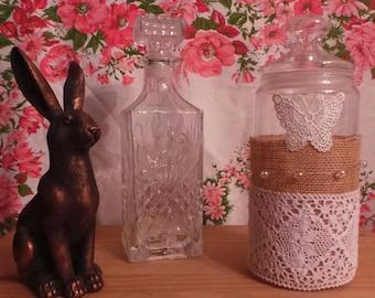 Upcycled Vintage Jar