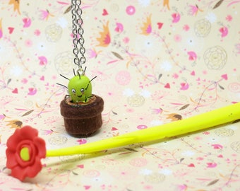 Pendant mini cactus jar